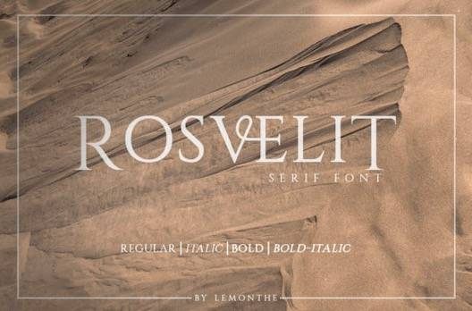 Rosvelit Font Family download