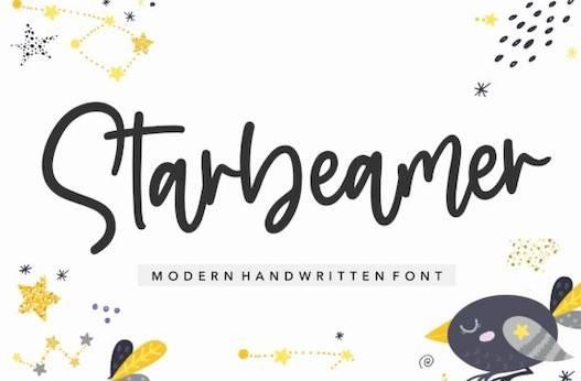 Starbeamer Font free download