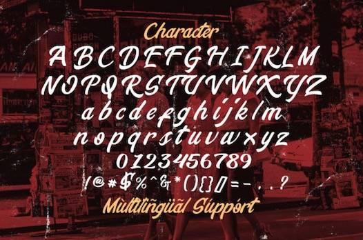 Stringlabs Creative Font free