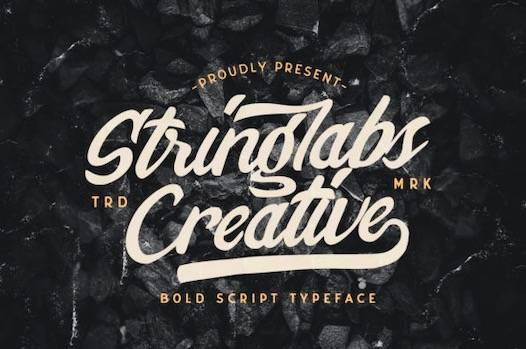 Stringlabs Creative Font free download