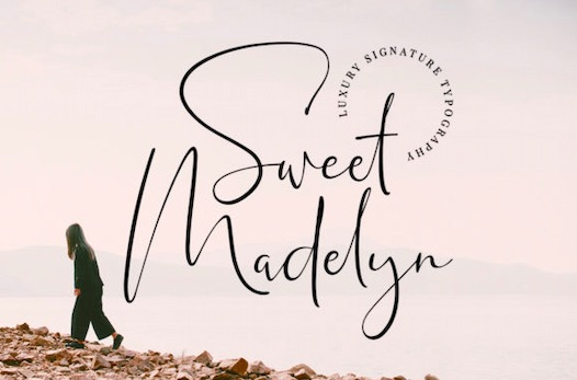Sweet Madelyn Font free download