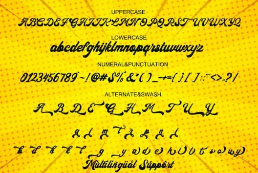 The Backro Font free