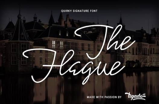 The Hague Font free download