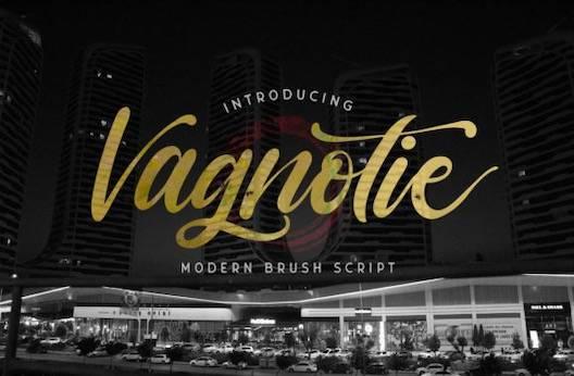 Vagnotie Font free download