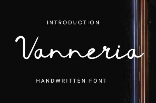 Vanneria Font download