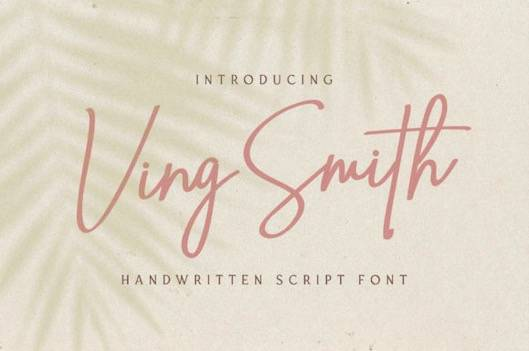 Ving Smith Font