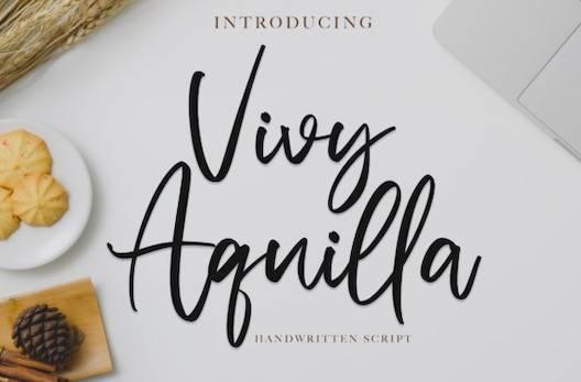 Vivy Aquilla Font free download