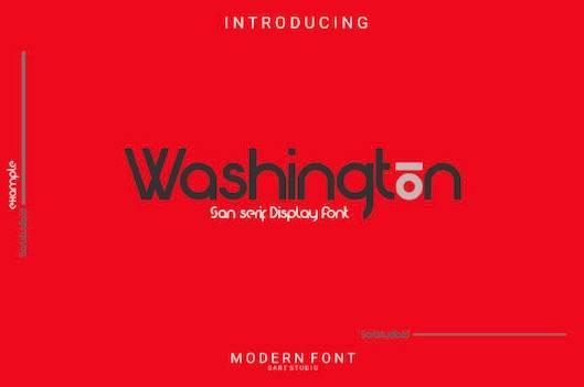 Washington Font free download
