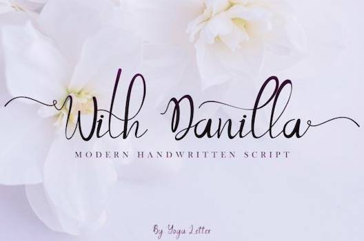 With Danilla Font free download