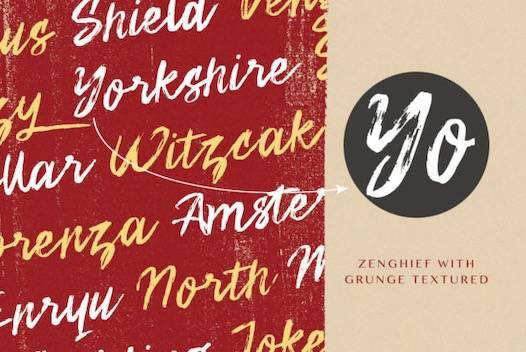 Zenghief Font download
