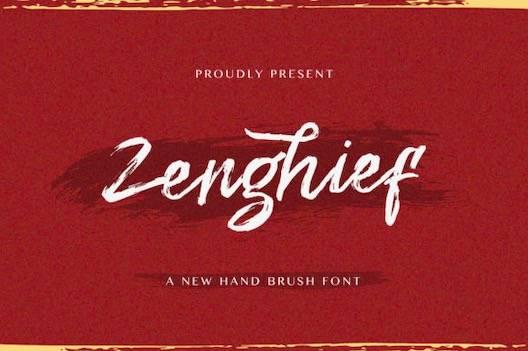 Zenghief Font free download