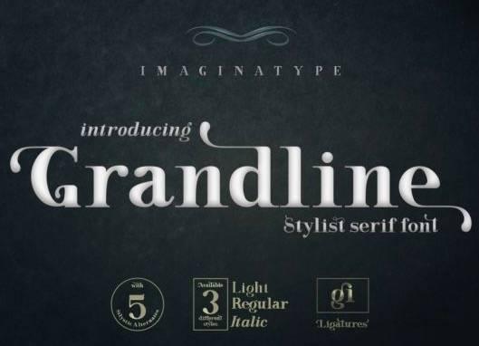 Grandline Serif Font