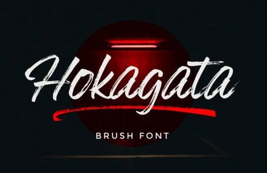 Hokagata font