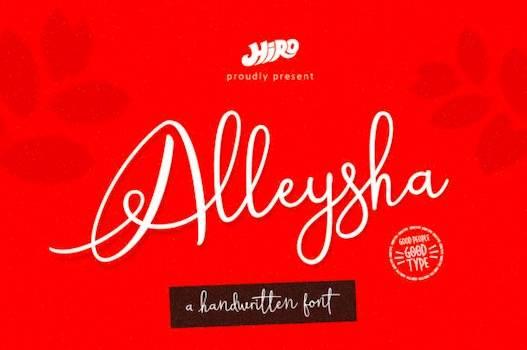 Alleysha Font free download