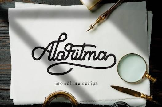 Aloritma Font free download