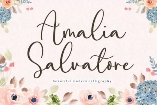 Amalia Salvatore Font free download