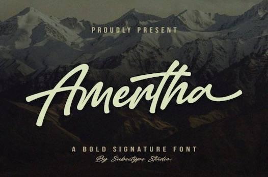 Amertha Font free download