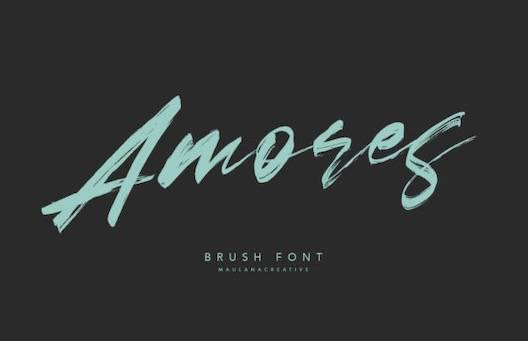 Amores Font free download