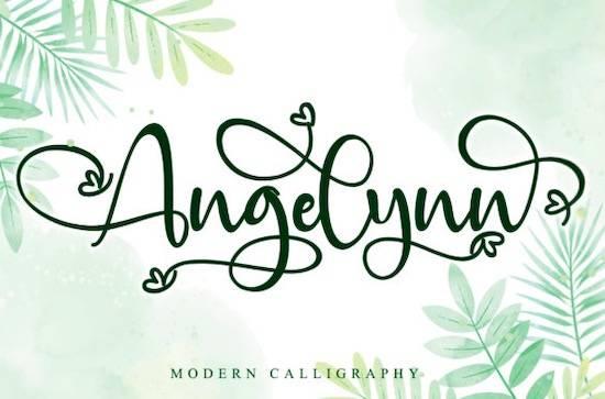 Angelynn font free download