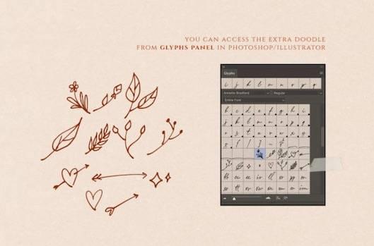 Annette Bradford signature Font
