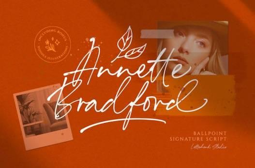 Annette Bradford Font free download