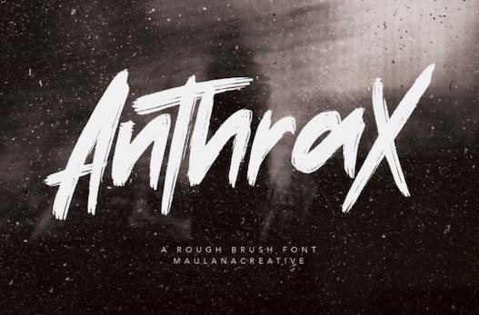 Anthrax font free download
