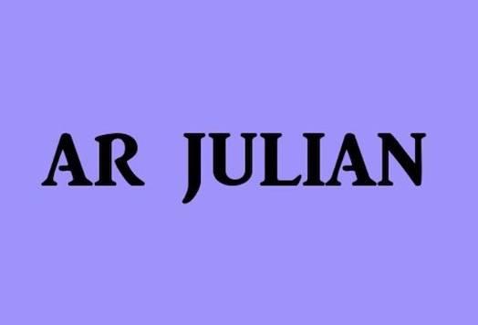 Ar Julian font free download