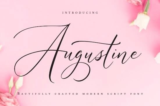 Augustine font free download