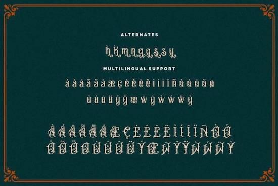 Bandits font free