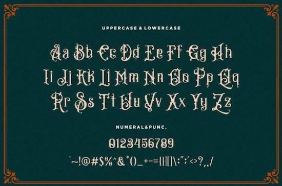 Bandits font download