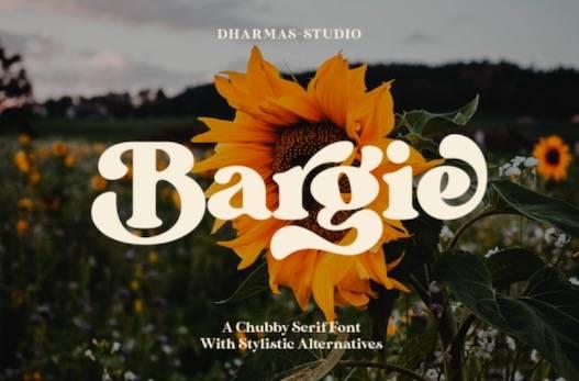 Bargie Font free