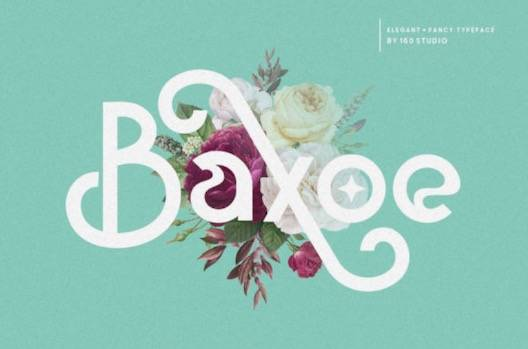 Baxoe Font free download
