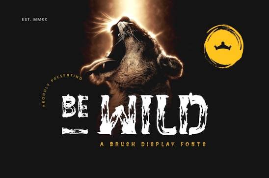 Be Wild Font free download