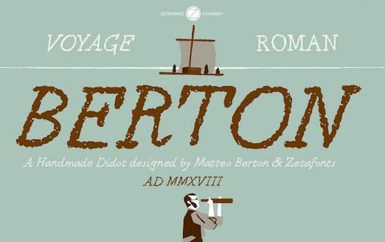 Berton Font Family download