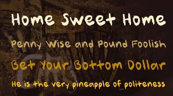 Better Sweet Font free