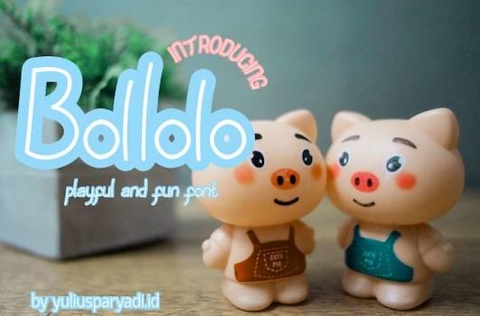 Bollolo font free download