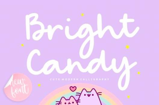Bright Candy Font free download
