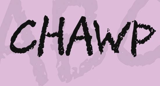 CHAWP Font free