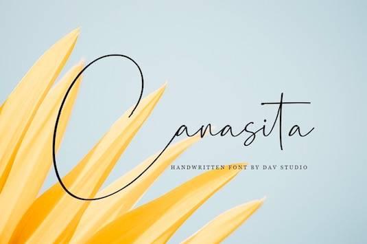Canasita Font free