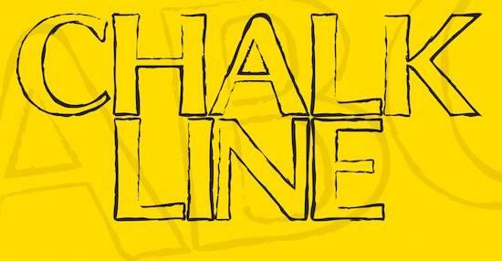 Chalk Line Font free