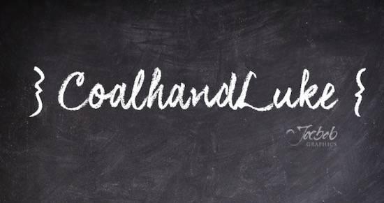 CoalhandLukeTRIAL Font free