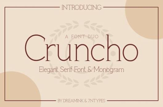 Cruncho Font free download