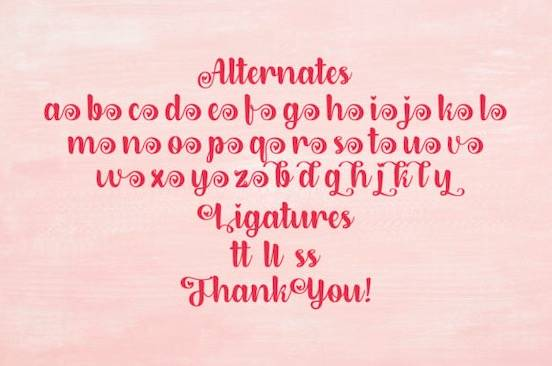 Dirly Belly font