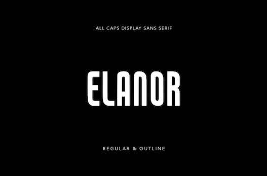Elanor Font free download