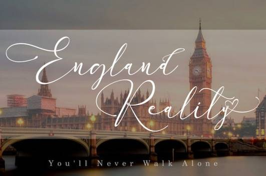 England Reality font free download