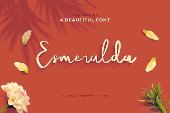 Esmeralda font free download