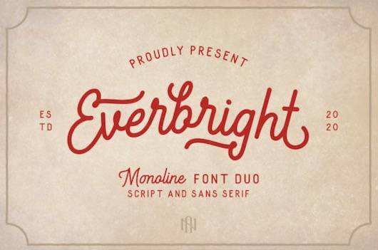 Everbright Font Duo download