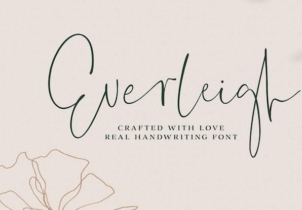 Everleigh Font download