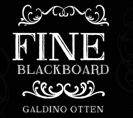 Fine Blackboard Font free