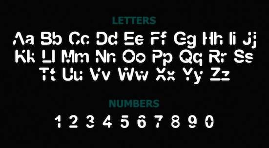 GALAXY font free